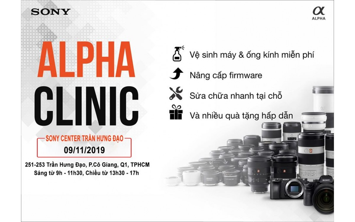 ALPHA CLINIC IS COME BACK !!!